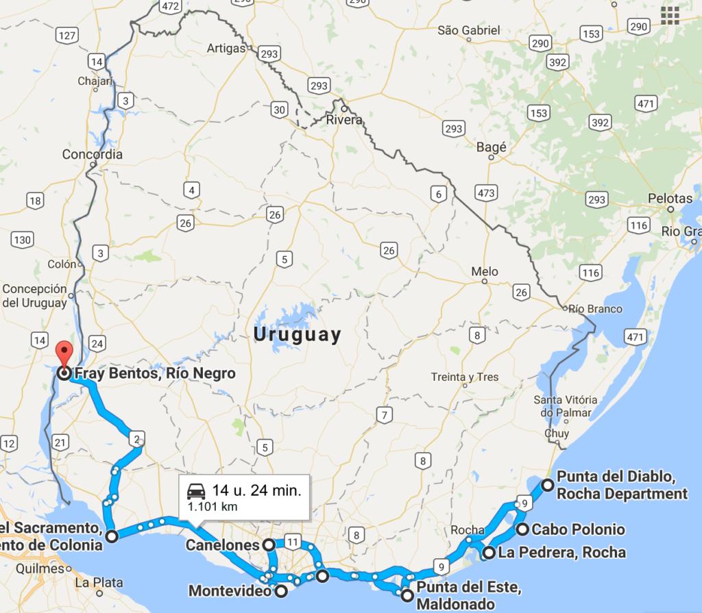 route-uruguay